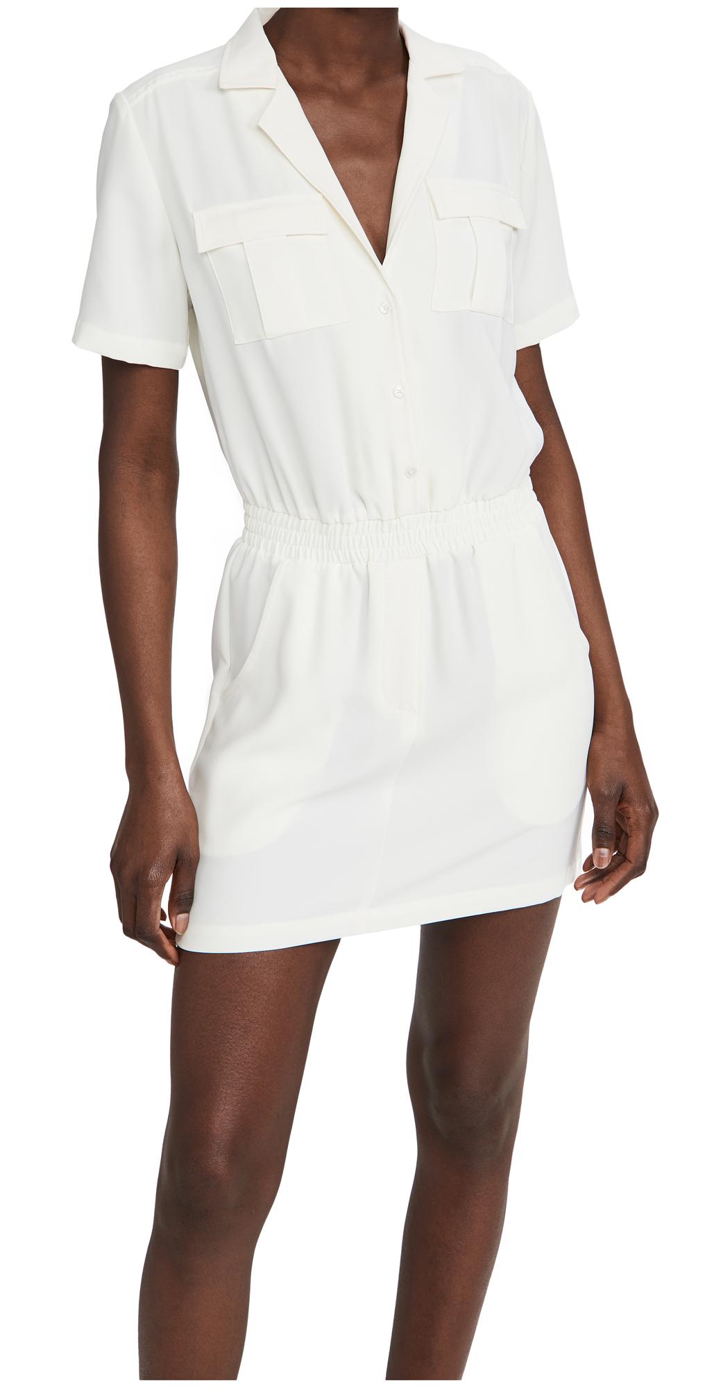 Amanda Uprichard Short Sleeve Felix Dress