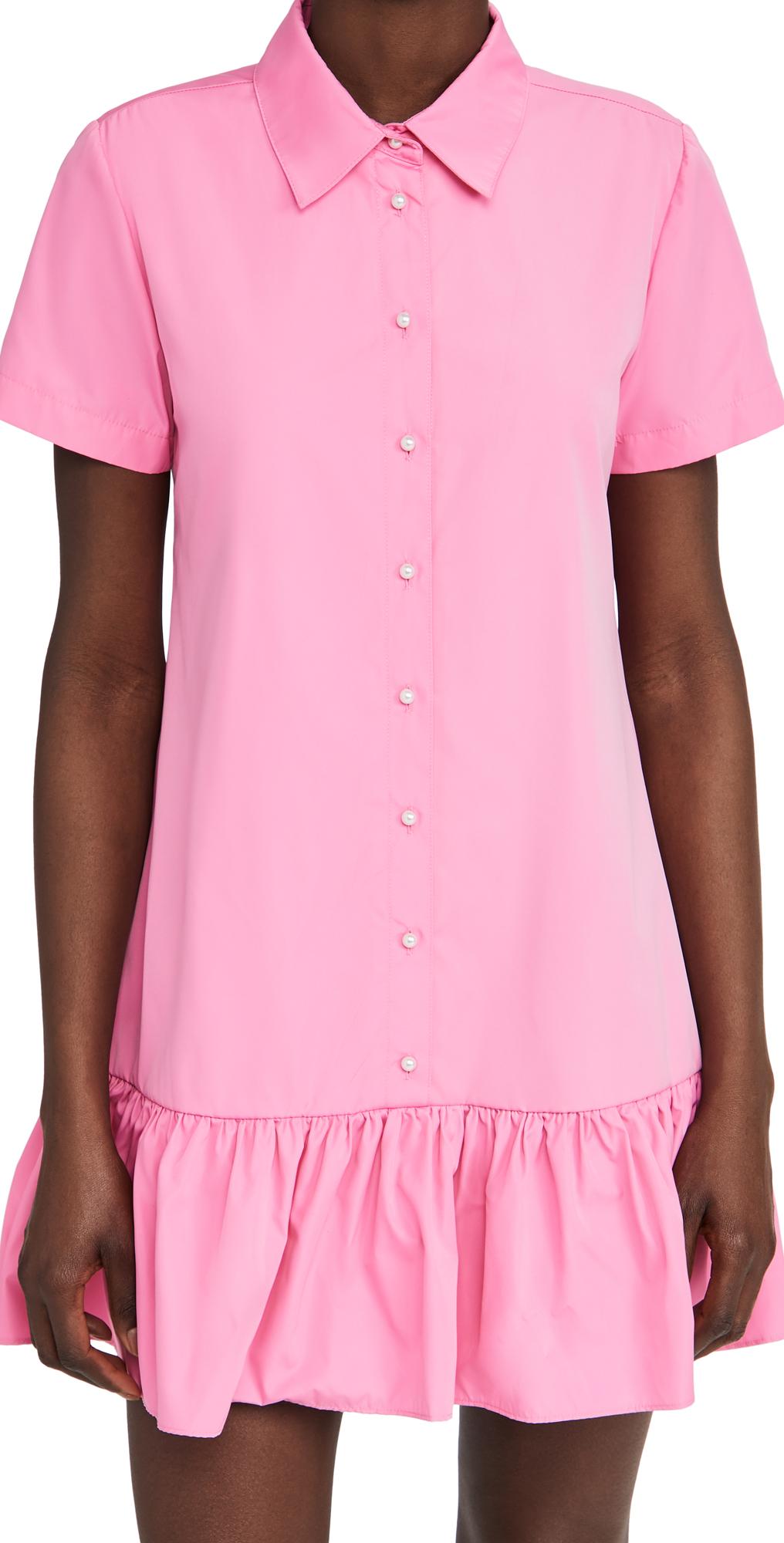 Amanda Uprichard Short Sleeve Raina Dress