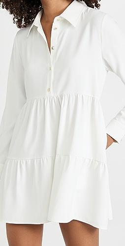 Amanda Uprichard - Long Sleeve Pierre Dress