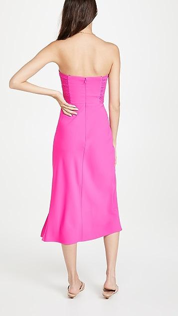 Amanda Uprichard Mandy Midi Dress