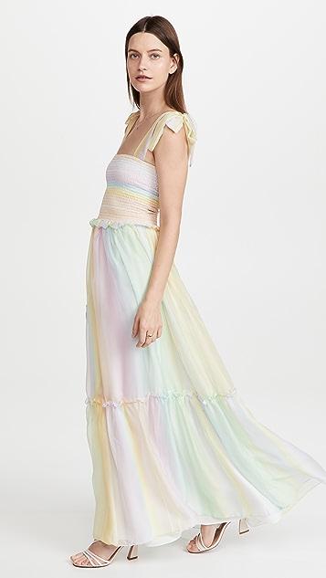 Amanda Uprichard Lillet Maxi Dress