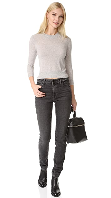 Autumn Cashmere Open Back Cashmere Sweater