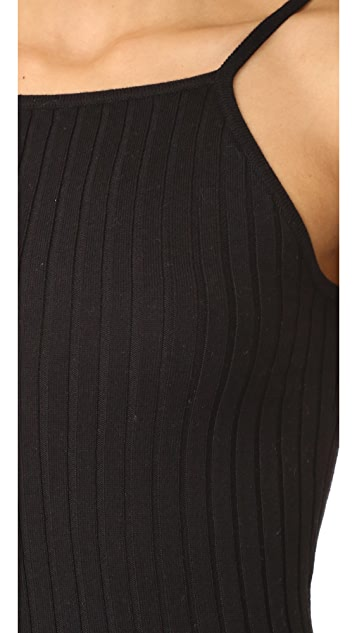 Autumn Cashmere Rib Dress