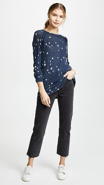 Autumn Cashmere Star Print Sweatshirt