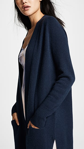 Autumn Cashmere Maxi Open Cashmere Cardigan
