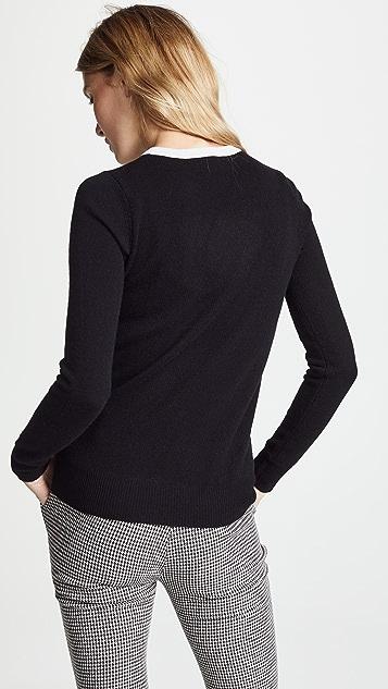 Autumn Cashmere Girl Boss Cashmere Sweater