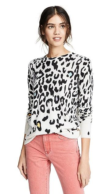 Autumn Cashmere Leopard Cashmere Sweater