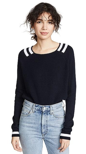 Autumn Cashmere Varsity Sweater