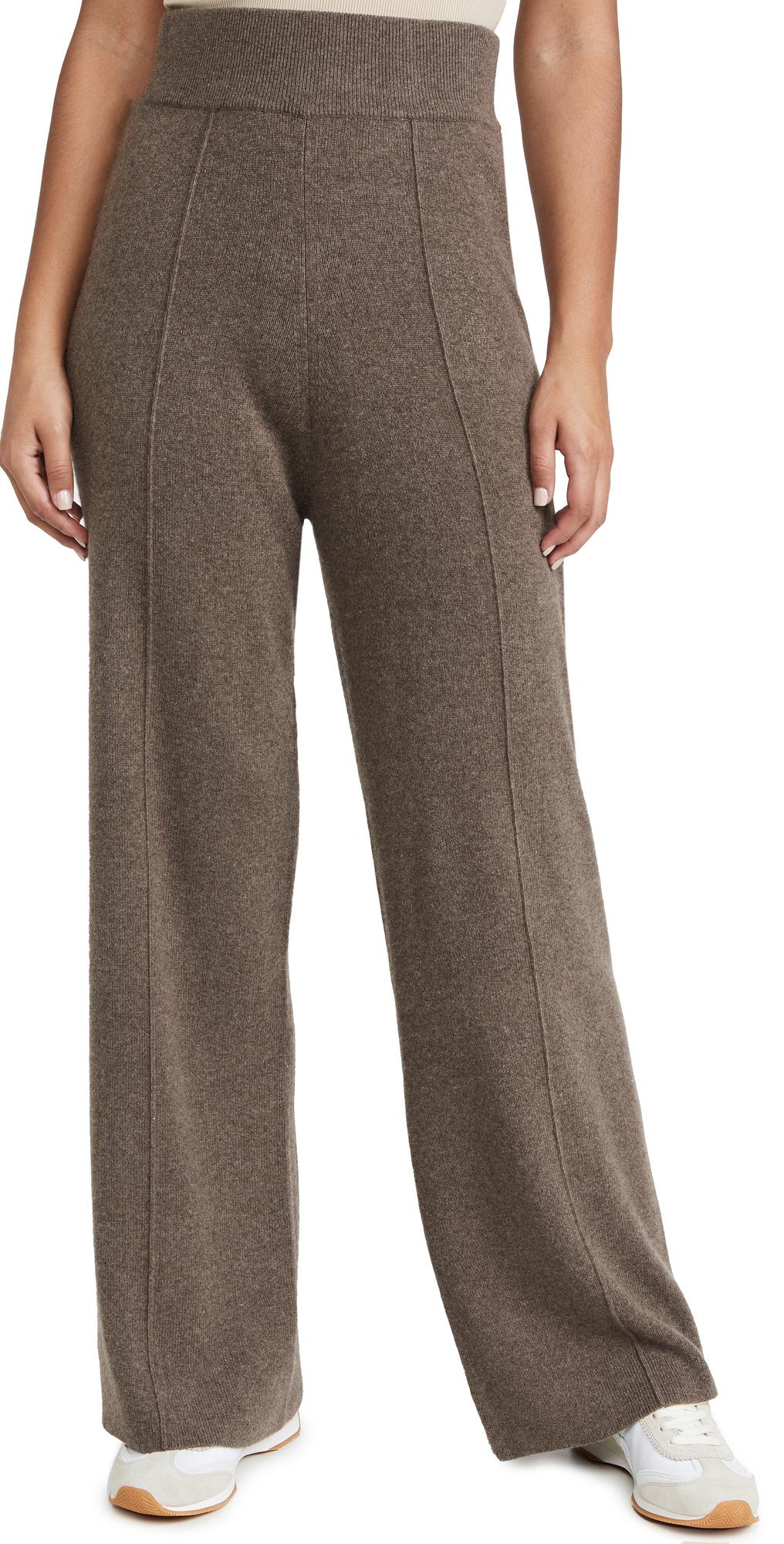 Seamed Wide Leg Lounge Pants