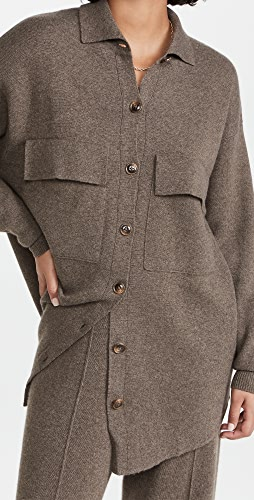 Autumn Cashmere - Milano 缝线衬衫式夹克