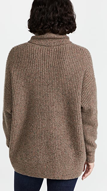 Autumn Cashmere Oversized Cashmere Turtleneck
