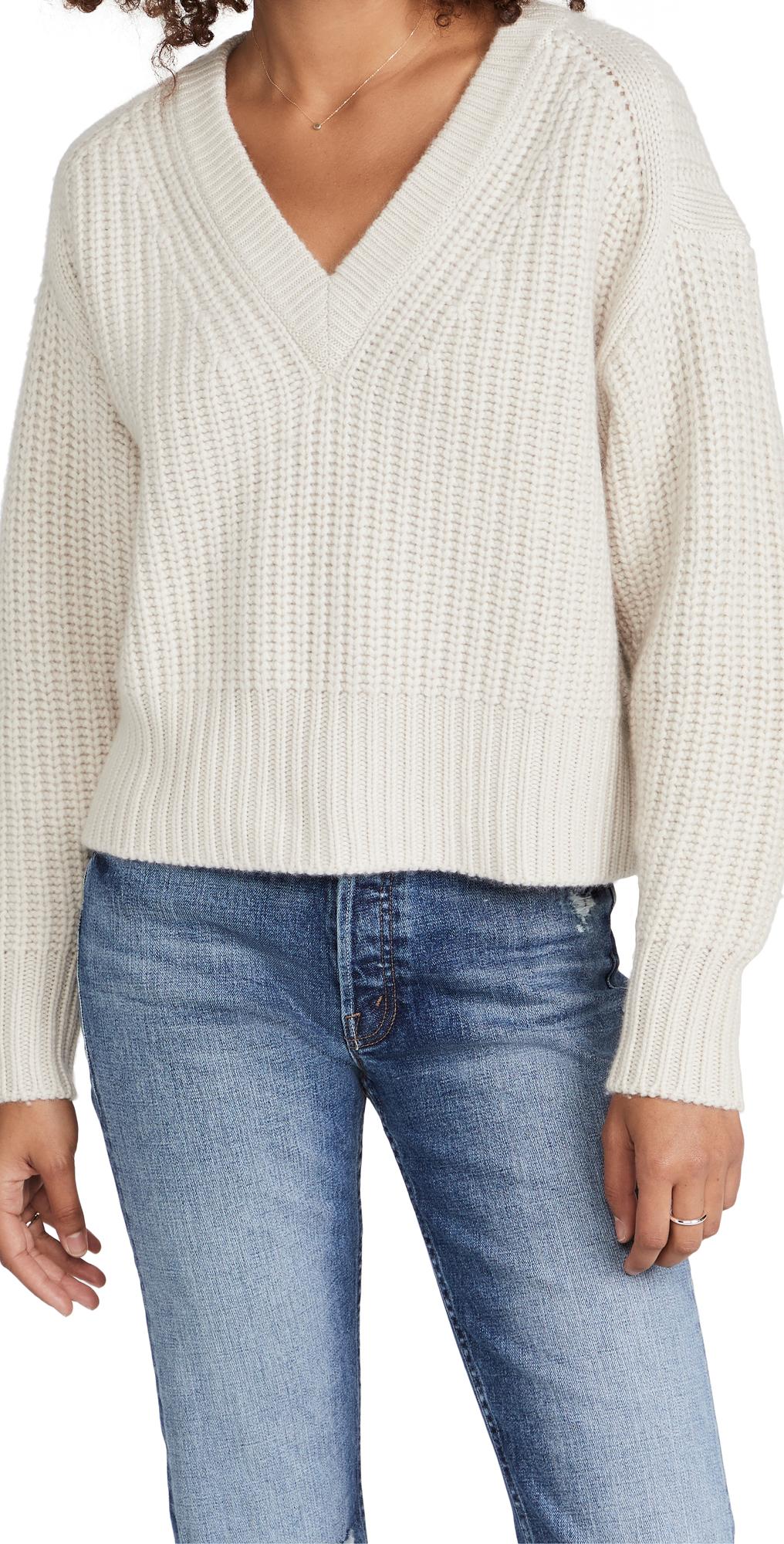 Chunky Shaker V Sweater