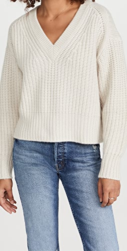 Autumn Cashmere - Chunky Shaker V Sweater