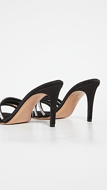 Alexandre Vauthier Salma 80mm 凉拖鞋