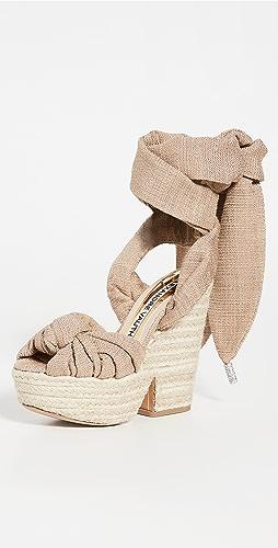 Alexandre Vauthier - Leila Wedge Sandals