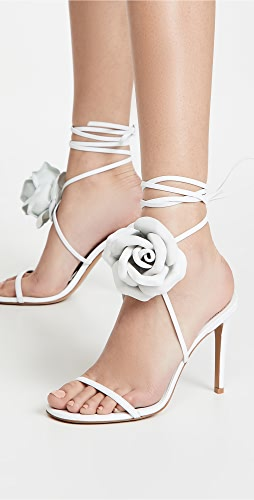 Alexandre Vauthier - Laurel Crystal Flower Sandals