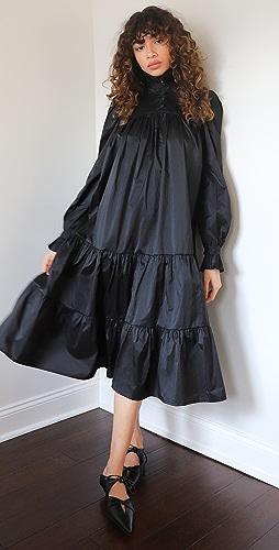AVAVAV - 中长荷叶边连衣裙