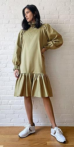 AVAVAV - Smock Ruffle Dress