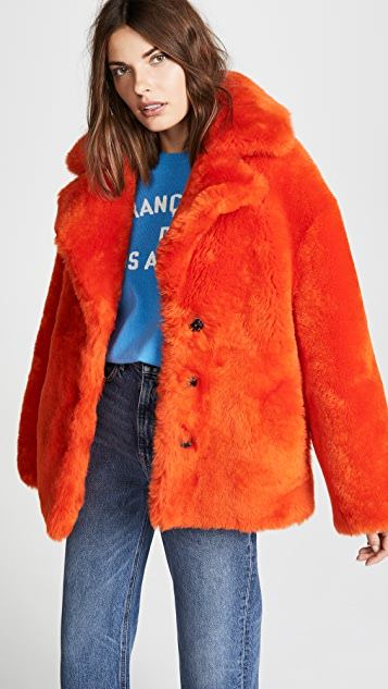 Anne Vest Sirid Shearling Coat