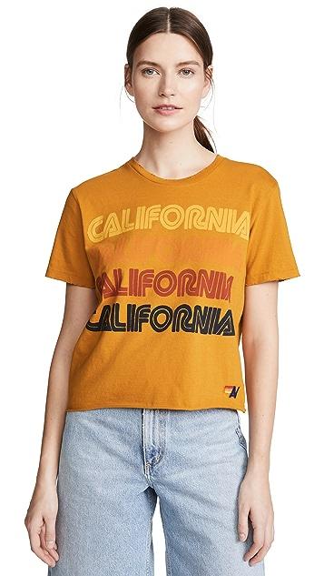 Aviator Nation California Boyfriend Tee