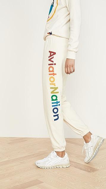Очки Aviator Nation Спортивные брюки Aviator Nation