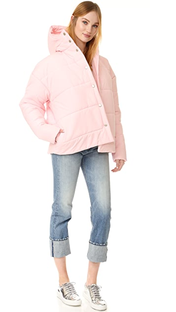 A.W.A.K.E. Объемная пуховая куртка