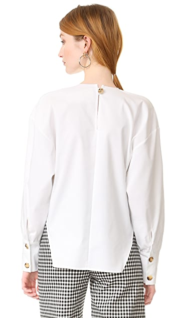 A.W.A.K.E. Oversized Sleeves Top