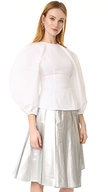 A.W.A.K.E MODE Oversized Sleeves Top