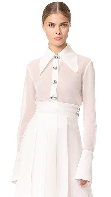 A.W.A.K.E. Oversize Collar and Cuff Shirt