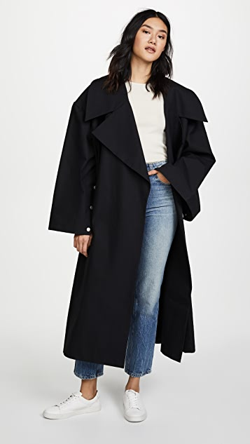 A.W.A.K.E. Oversized Coat With Sleeve Details
