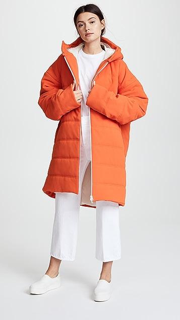 A.W.A.K.E. Orange Puffer Jacket