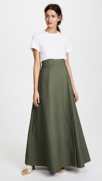 A.W.A.K.E. Khaki Wide Leg Trousers