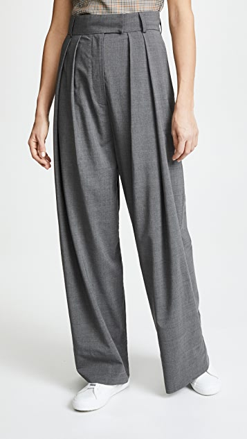 A.W.A.K.E. Fluid Wide Pants - Grey