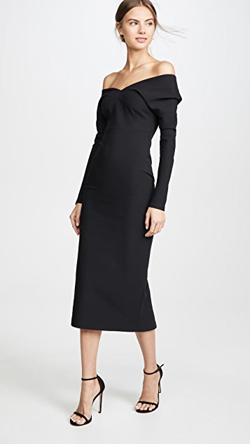 A.W.A.K.E MODE Non Monroe Midi Dress