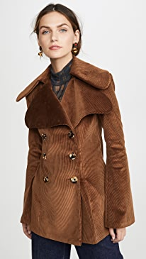 Dorian Brown Corduroy Jacket
