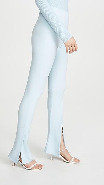 A.W.A.K.E MODE Облегающие брюки с разрезами спереди и по бокам