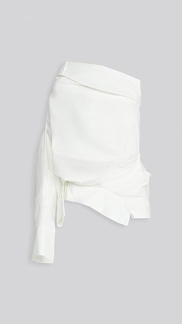 A.W.A.K.E MODE 单肩女式衬衫