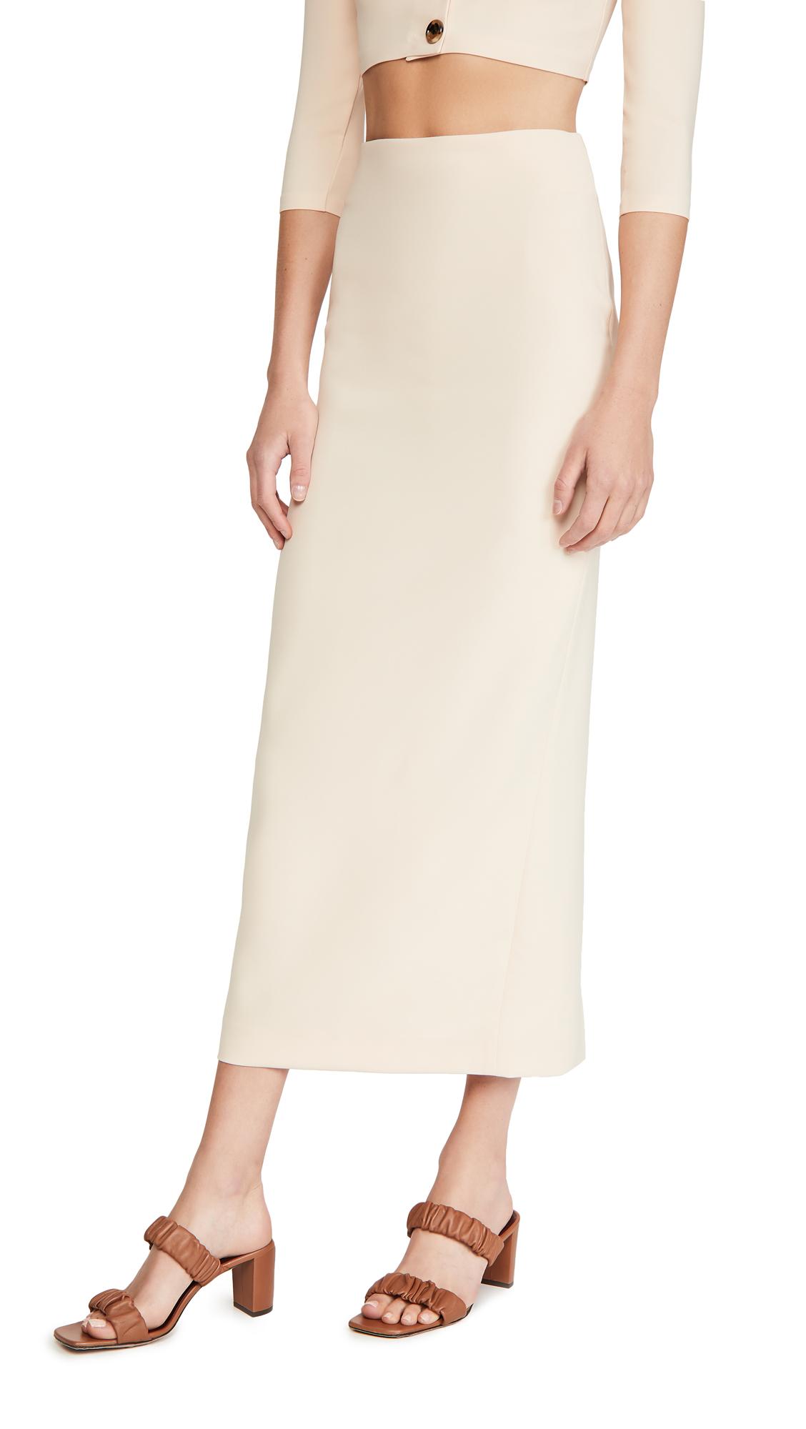 A.W.A.K.E MODE High Waist Tube Skirt