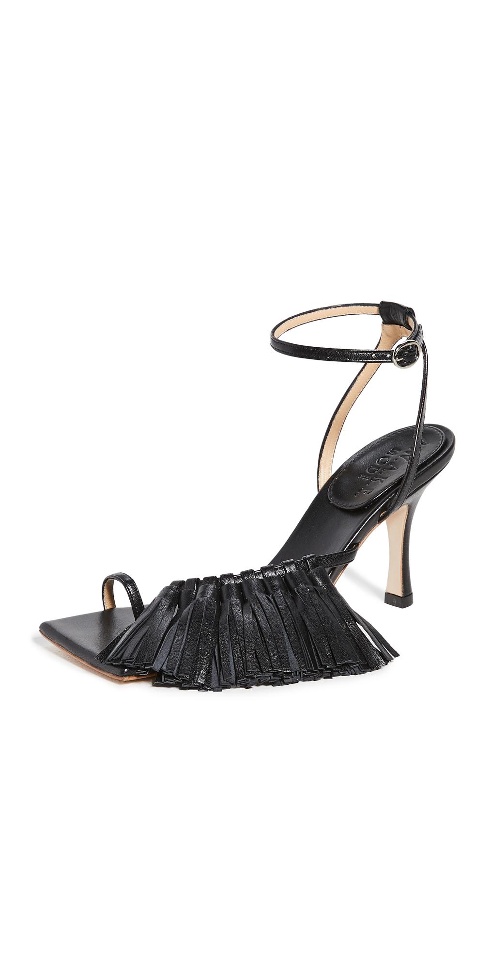 A.W.A.K.E MODE Delta High Tassel 80mm Sandals