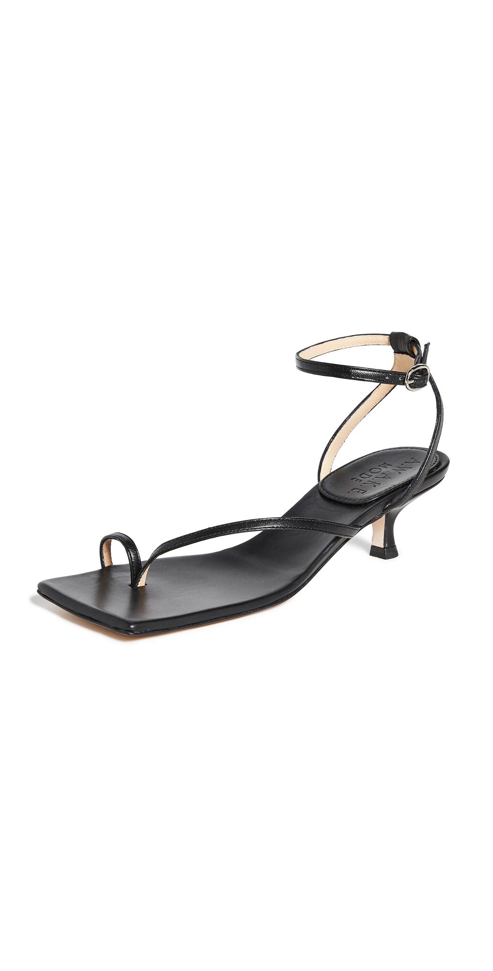 A.W.A.K.E MODE Delta Low 35mm Sandals