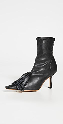 A.W.A.K.E MODE - Agnes Stretch Boots With Tassel