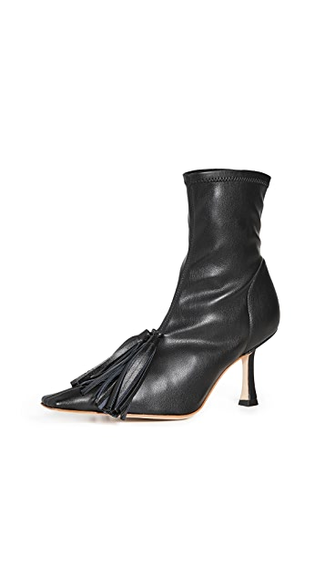 A.W.A.K.E MODE Agnes 流苏弹性靴子
