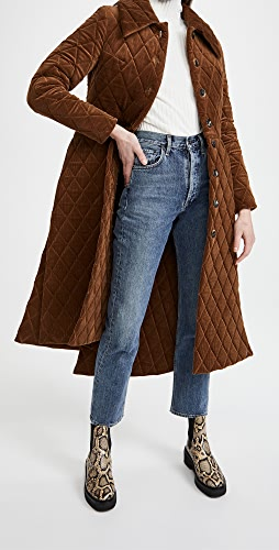 A.W.A.K.E MODE - Quilted Coat