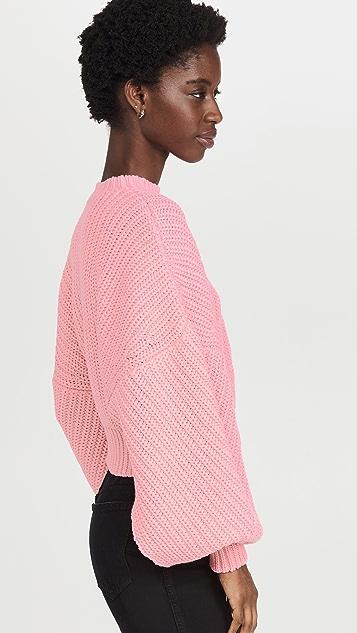 A.W.A.K.E MODE Open Sleeve Sweater