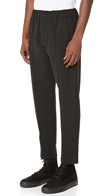 Alexander Wang Cropped Pintuck Trousers