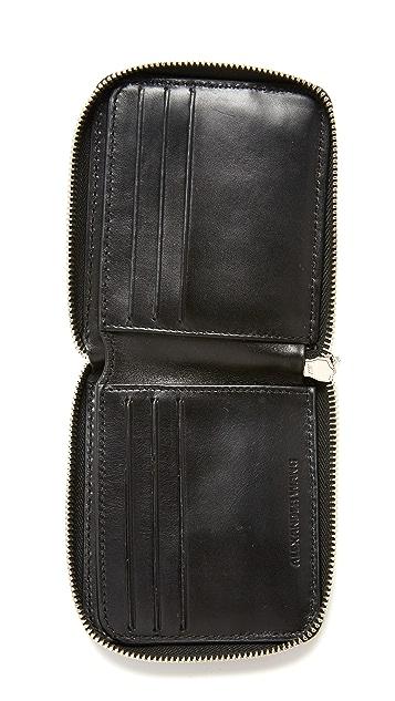 Alexander Wang Zipped Bifold Wallet