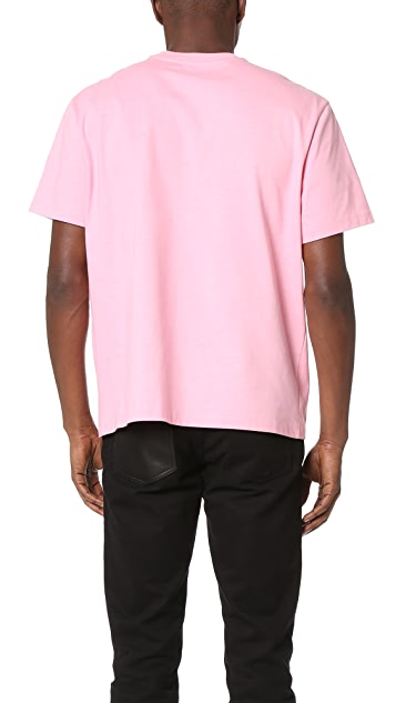Alexander Wang Collaged Artwork Tee