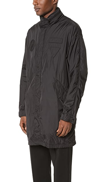 Alexander Wang Long Hooded Windbreaker