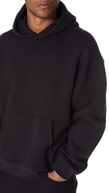Alexander Wang Dense Fleece Hooded Sweatshirt