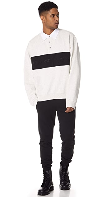 Alexander Wang Long Sleeve Polo Shirt